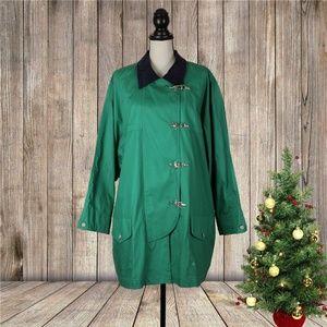 NWT Plus Jones New York Sport Rain Coat Size 3X